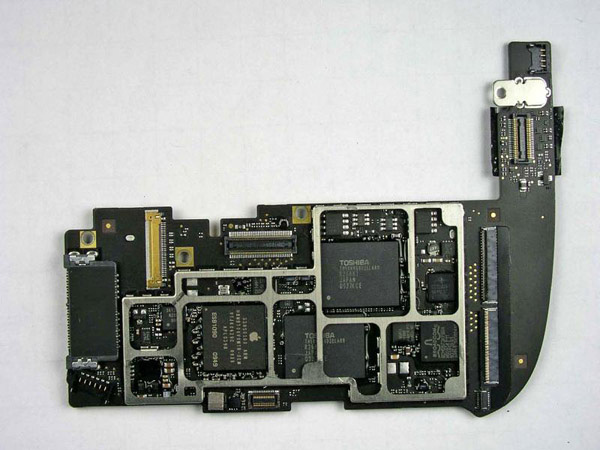 Motherboard dell'iPad