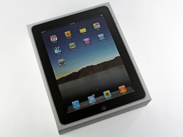 Apple iPad unbox