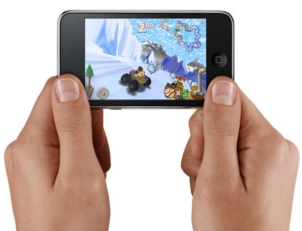 Apple iPod Touch landscape