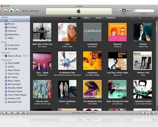 iTunes 08