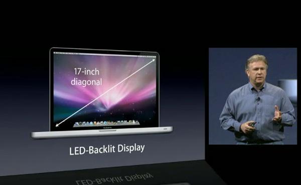 MacBook Pro 17 al MacWorld Expo 09