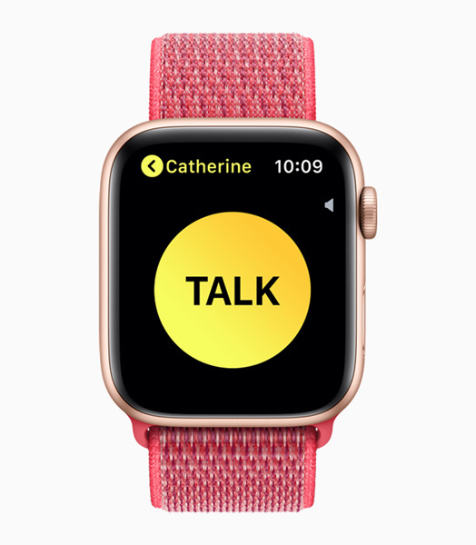 Apple Watch Series 4 Walkie Talkie