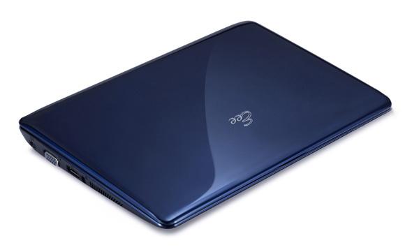 Asus Eee PC 1005HA blu chiuso