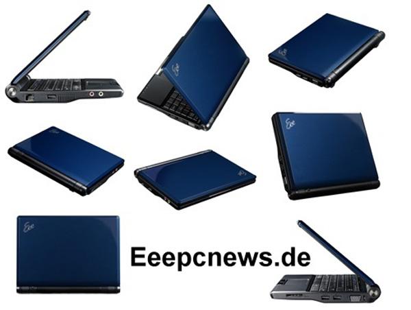 Asus Eee PC 900A Blu