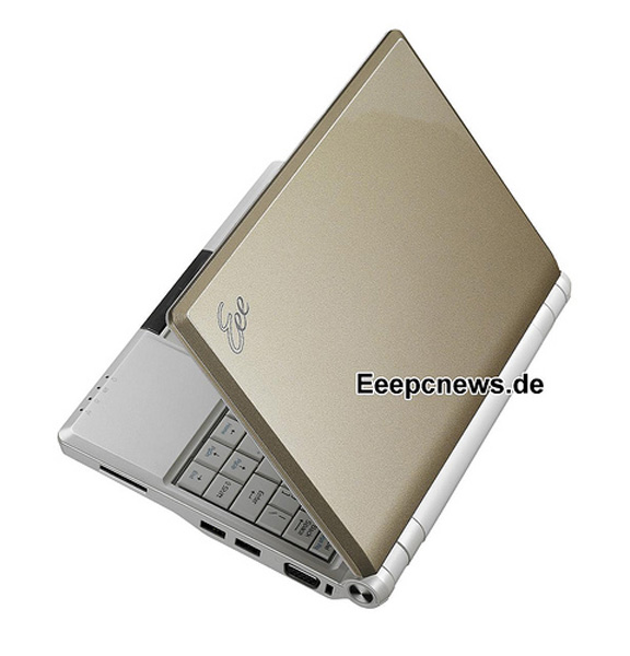 Asus Eee PC 900A gold