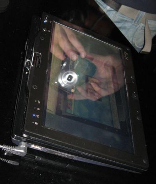 Asus EeePC T91 convertito in tablet