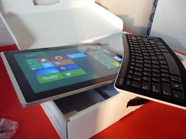 Asus Eee Slate B121 con Windows 8