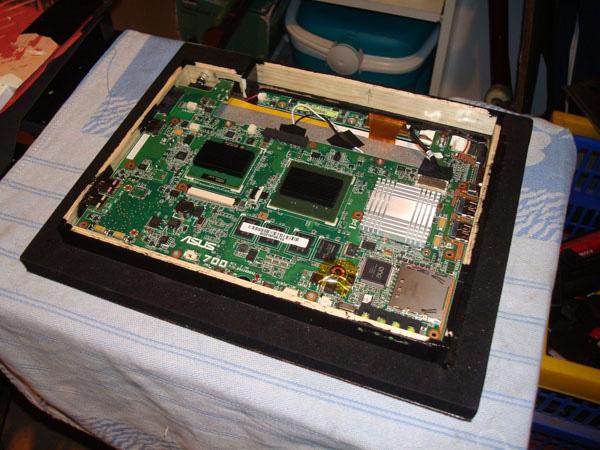 Trasformiamo un Asus Eee PC in cornice digitale