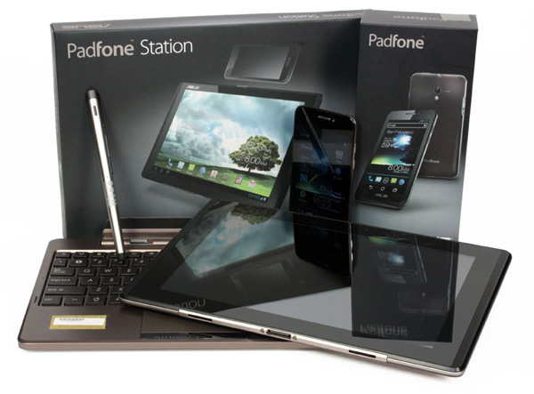 Asus Padfone Station tablet, tastiera dock e Stylus ...
