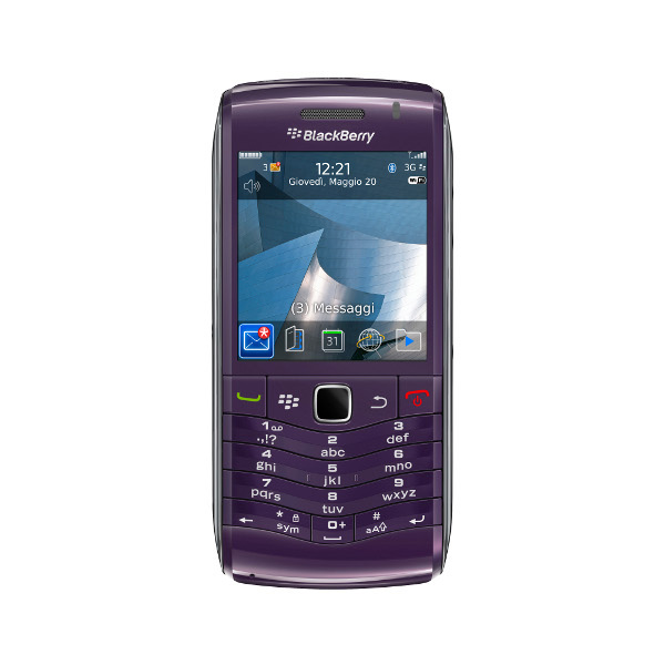 Blackberry Pearl 3G viola