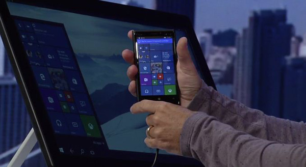 76bd329225da4 Windows 10  Continuum su smartphone