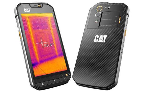 Cat S60 è Il Primo Smartphone Con Termocamera Flir Integrata