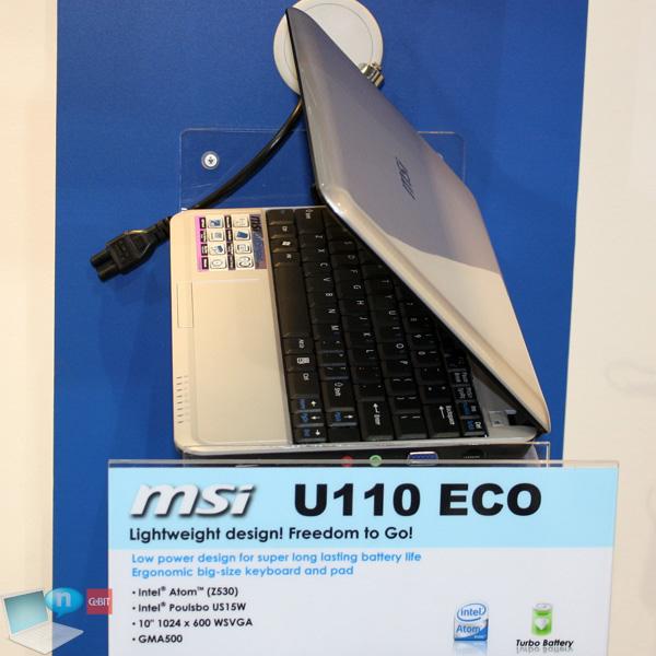 MSI Wind U110 Eco