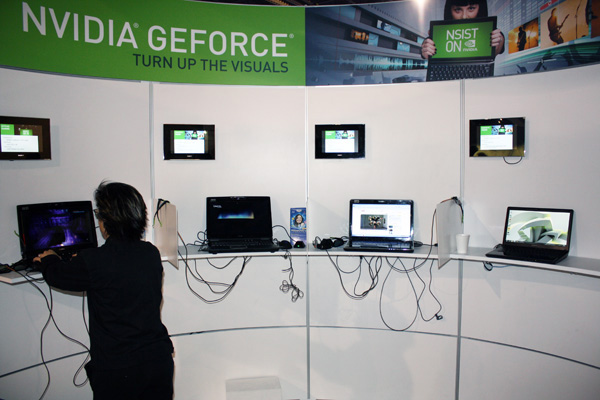 Demo notebook Nvidia 3D Vision ready