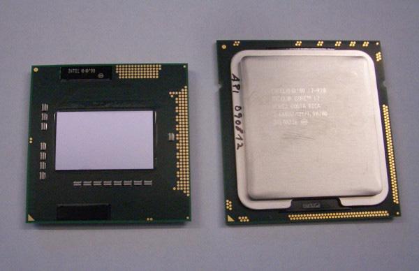 Ancora una foto di processore Intel Core i7 Clarksfield