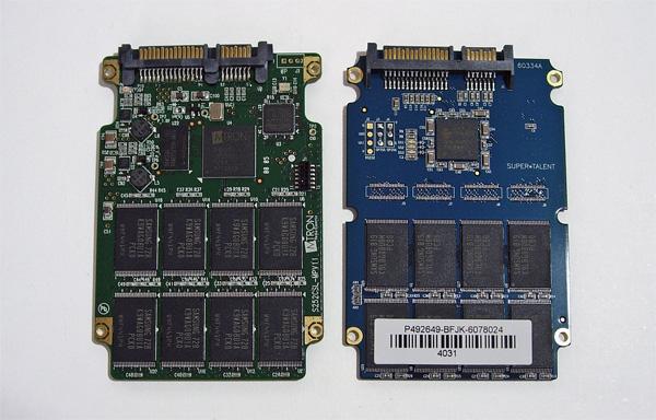 Circuiti stampati di SSD SLC e MLC