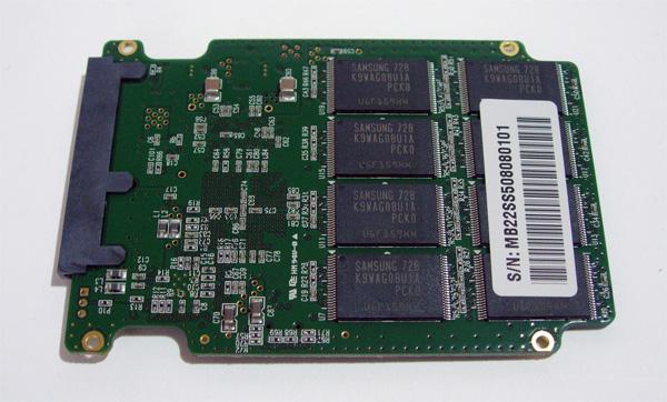 PCB del solid state drive Mtron