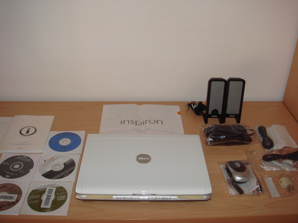 Dell Inspiron 1520 unbox