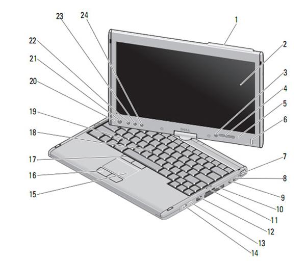 Dell Latitude XT2 manuale