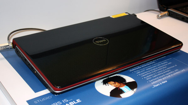 Dell Studio 17 Multitouch cover