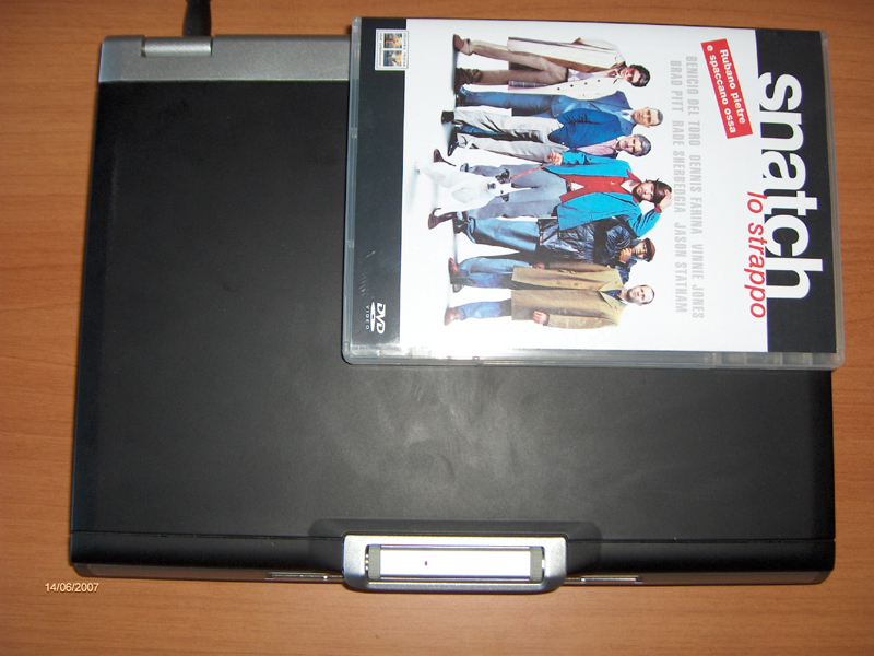 Dell XPS M1210, cover