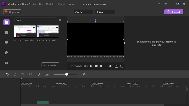 DemoCreator video editor