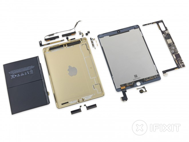Apple iPad Air 2 disassemblaggio