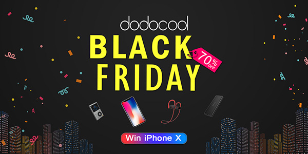 Black Friday di dodocool