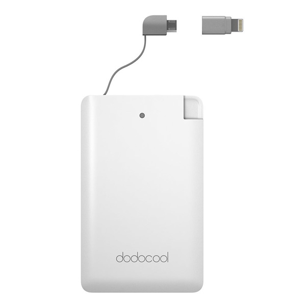 dodocool power bank da 2500 mAh