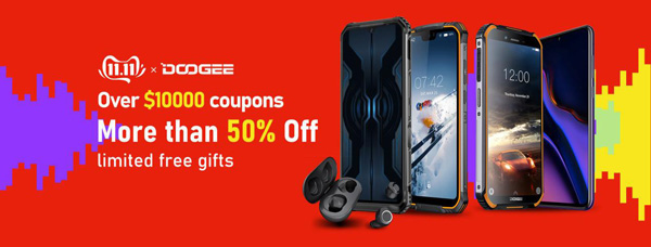 Doogee 11.11 Big Sale Single's Day