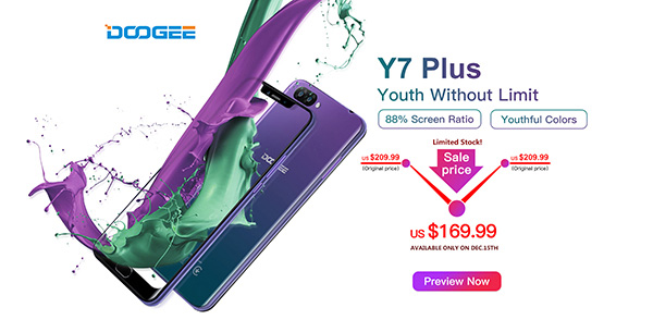 Doogee Y7 Plus da Aliexpress