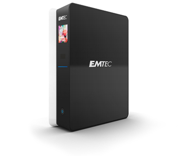 Emtec MovieCube S800 in piedi