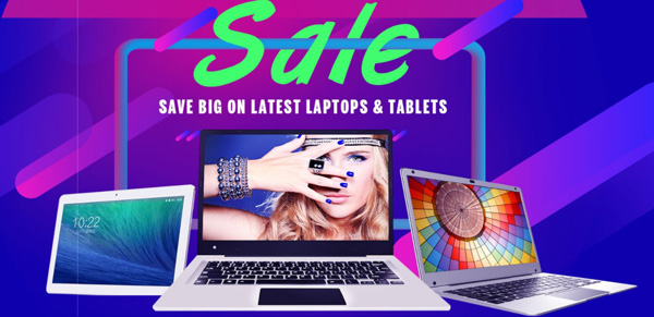 Promozione notebook e tablet 2-in-1 su Geekbuying