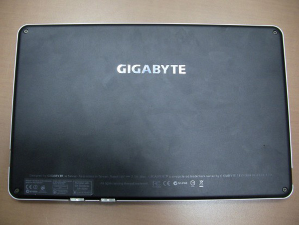 Gigabyte S1080 Slate Windows 7 In Video Notebook Italia
