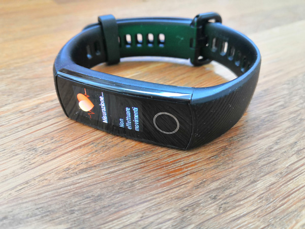 Honor Band 5 frequenza cardiaca