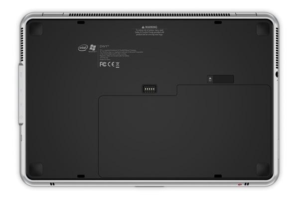 Fondo del notebook HP Envy 13
