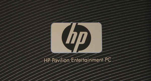 Logo HP su Paviluion dv6