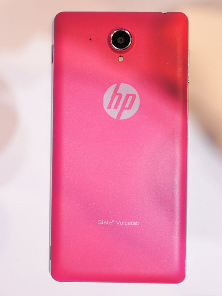 HP Slate 6 Voicetab in colore rosa