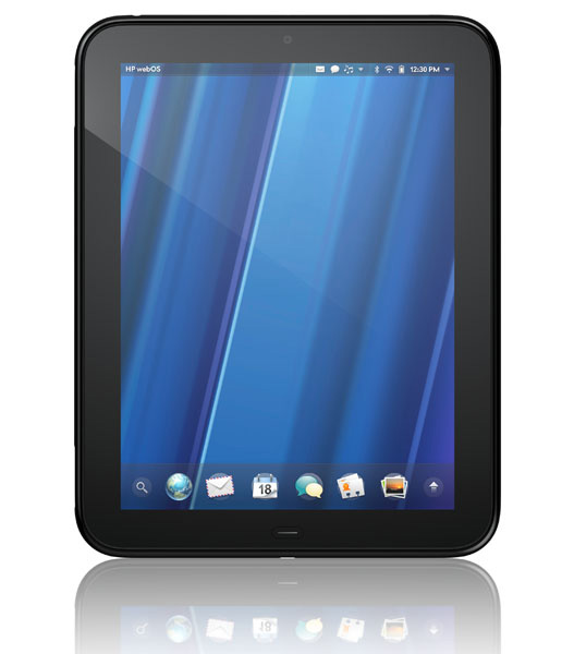 Tablet HP Tuchpad