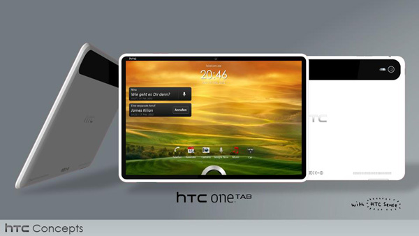 Concept HTC One Tab