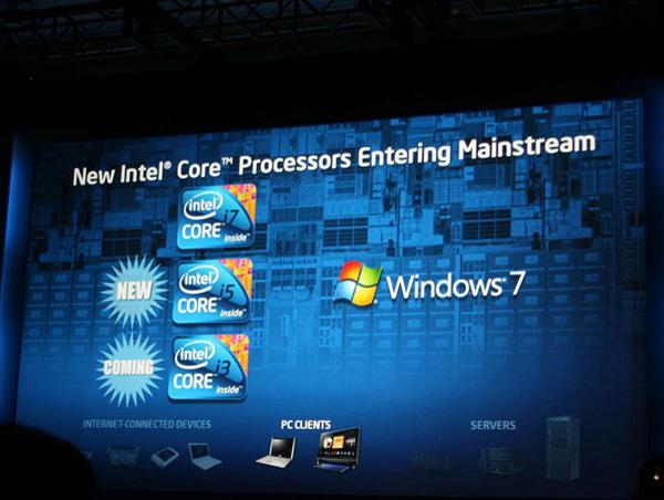 Intel Core i7, i5, i3