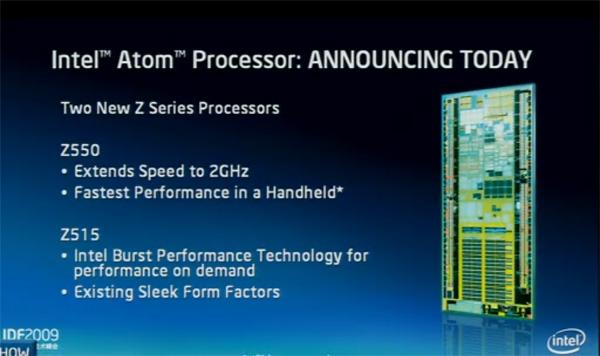 Atom Z550 e Z515