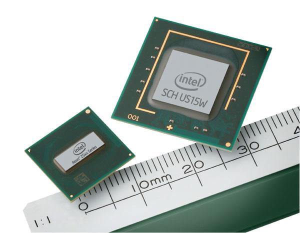 Atom: chipset e CPU
