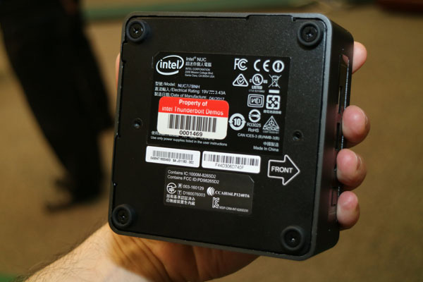 Intel NUC (Baby Canyon)