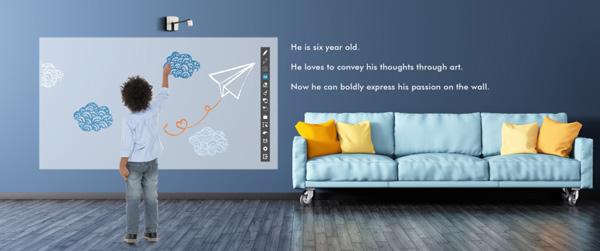 Interpro Trasforma Qualsiasi Parete In Una Lavagna Digitale Touch