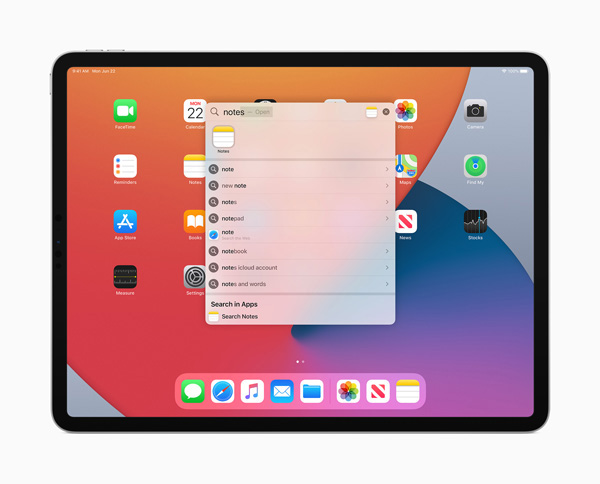 Apple iPadOS 14