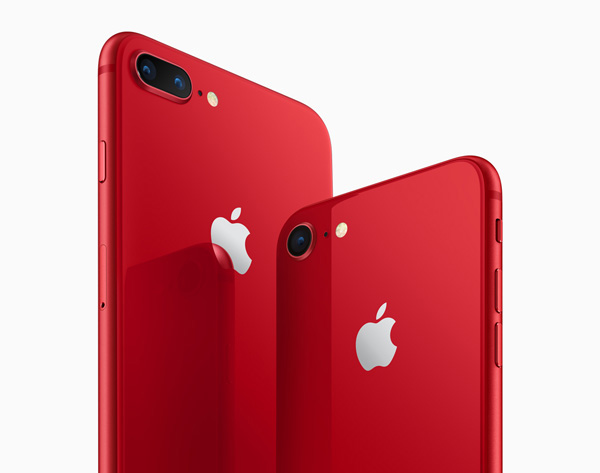 iPhone 8 e iPhone 8 Plus (PRODUCT)RED