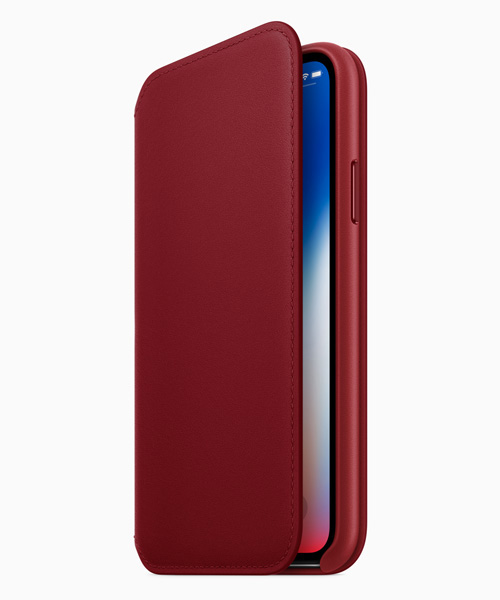 Case Folio (PRODUCT)RED per iPhone X