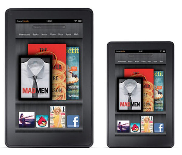 I nuovi tablet Amazon Kindle Fire HD