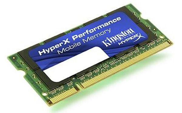 Kingston HyperX memoria netbook
